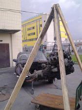 Полиспаст ручной 900 кг 20м SKRAB 26464 используется для снятия двигателя волги