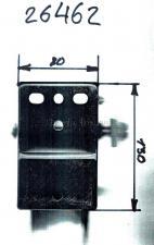 Размеры основания: Лебедка ручная барабанная (катушка) (тросовая) 450кг WС06-510-2 JUN KAUNG SKRAB 26462