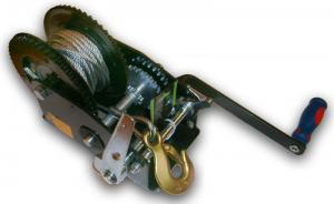 Лебедка ручная барабанная (катушка) (тросовая) с ручным тормозом 1684кг JUN KAUNG SKRAB 26459
