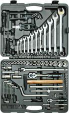 Набор инструментов 90 предметов для авто в чемодане (кейсе) SKRAB 60090