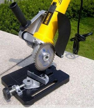 УШМ с пильным диском по дереву на стойке для УШМ 115/125мм MY6103 SKRAB 25525