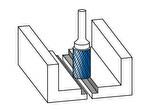 Применение борфрезы тип Б цилиндрической с торцевыми зубьями для плоского шлифования металлов