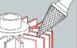 Применение борфрез тип M конических SKRAB