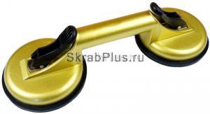 Стеклодомкрат двойной алюминиевый корпус 80 кг SKRAB 27062 купить на официальном сайте