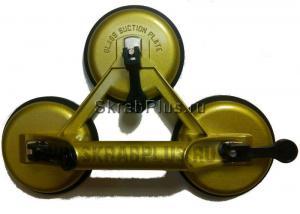 Стеклодомкрат тройной алюминиевый корпус 120 кг SKRAB 27063 купить на официальном сайте
