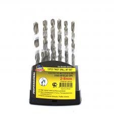 Набор сверл по металлу 13 шт. 2,0 - 8,0 мм ц/х HSS Р6М5 SKRAB 30130 DIN 338 (ГОСТ 10902-77) купить на официальном сайте