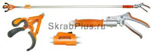 Плодосборник трехпалый с телескопической штангой от 1,77м до 3,0 м SKRAB 23146 купить оптом в СПб