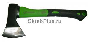 Топор плотницкий 1000 г с фиберглассовой зелено/черной ручкой SKRAB 20143 купить оптом в СПб