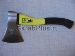 Топор плотницкий  800 г с фиберглассовой желто/черной ручкой SKRAB 20122 купить оптом в СПб