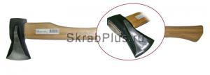Топор-колун 1250 г с деревянной длинной ручкой SKRAB 20114К купить оптом в СПб