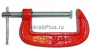 """Струбцина G образная 3"""" (75 мм) красная SKRAB 25243 купить на официальном сайте"""