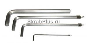 Ключ шестигранный 2,5 мм SKRAB 44751 купить на официальном сайте