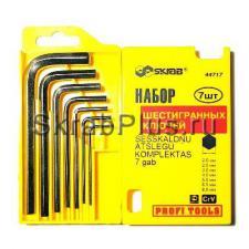 Набор ключей шестигранных 7 шт. 2-8 мм CV SKRAB 44717 купить купить на официальном сайте в Санкт-Петербурге