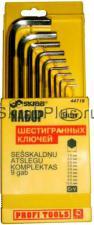 Набор ключей шестигранных 9 шт. 1,5-10 мм CV SKRAB 44719 купить на официальном сайте в СПб