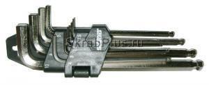 Набор ключей шестигранных 9 шт. 1,5-10 мм средних с шаром SKRAB 44721 купить купить на официальном сайте в Санкт-Петербурге