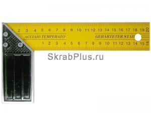Угольник столярный 400 мм SKRAB 13325 купить оптом в СПб
