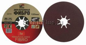 Круг фибровый 180 мм Р 60, 25 шт. SKRAB 35792 купить оптом в СПб