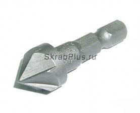 Зенкер по дереву 12 * 38 мм шестигранный хвостовик SKRAB 30153 купить оптом и в розницу в СПб