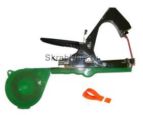 Тапенер степлер набор для подвязки растений 2 ленты Скобы 10 000 шт запасное лезвие SKRAB 28175 купить оптом в СПб