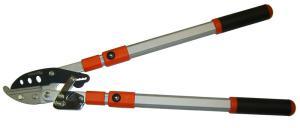 Сучкорез телескопический 1000 мм рез до 50 мм, силовой, двух рычажный, с трещоточным механизмом SKRAB 28044