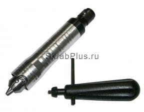 Патрон для гибкого вала 0,4 - 6,5 мм с ключом SKRAB 25516 купить оптом в СПб