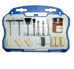 Набор оснасток для прямошлифовальной машины (гравера) 20 пр. SKRAB 25550 купить оптом в СПб