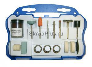 Набор оснасток для прямошлифовальной машины (гравера) 52 пр. SKRAB 25552 купить оптом в СПб