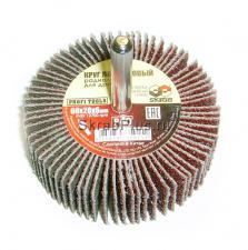 Круг лепестковый радиальный для дрели 60 x 20 х 6мм Р80 SKRAB 35917 купить оптом и в розницу в СПб