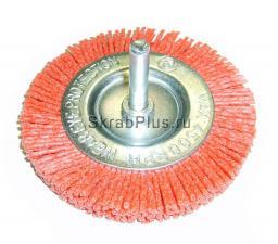 Корщетка дисковая 100*6 мм нейлоновая для дрели SKRAB 35332 купить оптом и в розницу в СПб