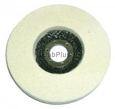 Диск войлочный полировальный для УШМ 125*8*22,2 мм SKRAB 35546 купить оптом и в розницу в СПб