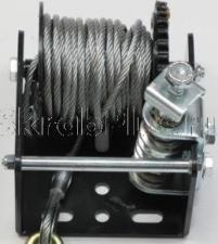 Изображение червячного механизма лебедки ручной барабанной червячной 700 кг трос 6 м JUN KAUNG WC06-915А SKRAB 26456