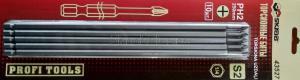 Биты PH2x250мм торсионные магнитные 10шт SKRAB 43527 - упаковка, купить оптом и в розницу в СПб