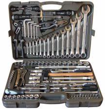 Набор инструментов 102 предмета для авто в чемодане (кейсе) SKRAB 60102