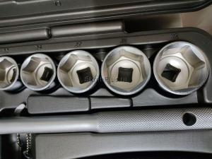 Набор инструментов 77 предметов для авто в чемодане (кейсе) SKRAB 60077