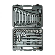 Набор инструментов 39 предметов 1/2 для авто в чемодане (кейсе) SKRAB 60039