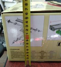 Оригинальное фото: Высота упаковки стола двухкоординатного для станков 350*100 мм на линейных подшипниках SKRAB 25501