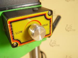 Плавная регулировка скорости сверления станка skrab 55000