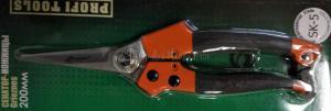 Блистер: Секатор-ножницы садовый 200 мм усиленный SKRAB 28168 купить оптом в Санкт-Петербурге