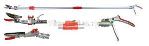 Сучкорез телескопический 1900 - 3090 мм, рез до 12 мм SKRAB 28026 купить оптом и в розницу в СПб
