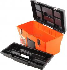 """Ящик для инструментов 16"""" (420*210*220 мм) с металлическими замками MJ-3080 SKRAB 27702"""