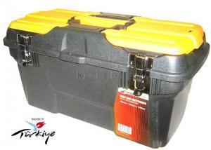Ящик для инструментов 19 (494*263*250 мм) морозостойкий с металлическими замками MG-19 SKRAB 27595