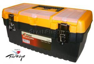 Ящик для инструментов 16 (413*212*186 мм) морозостойкий с металлическими замками MT-16 SKRAB 27584 купить оптом в СПб