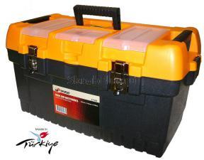 Ящик для инструментов 22 (564*310*310 мм) морозостойкий с металлическими замками MT-22 SKRAB 27586