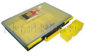 """Ящик-органайзер для крепежа 13"""" (340*250*60 мм) MJ-3133 SKRAB 27562"""