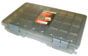 """Ящик-органайзер для крепежа 15"""" (375*225*72 мм) двухсторонний MJ-2079 SKRAB 27716"""