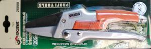 Сучкорез садовый контактный 205 мм прямой храповый механизм HCS SKRAB 28000 упакован в блистер